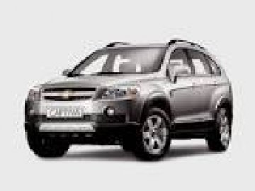 Chevrolet Captiva car hire in Laranca