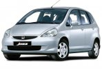 Honda Jazz car for hire in Paphos Cyprus