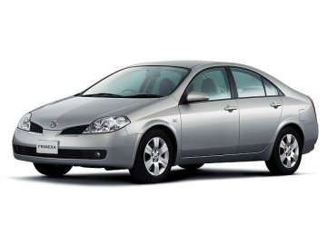 Nissan Primera car hire in Laranca