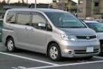 Nissan Serena car for hire in Paphos Cyprus