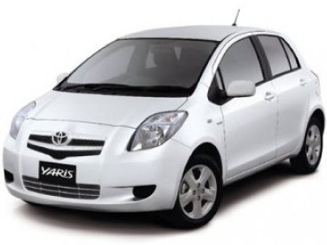 Toyota Yiaris car hire in Laranca